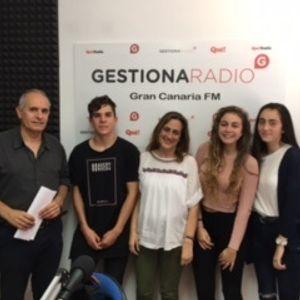 ENTREVISTA A Rosalía Santos, Patricia González, Claudia Roldán y Carlos Hernández