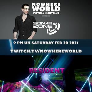 SONAR ZONE @ NOWHERE WORLD