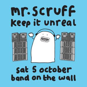 Mr. Scruff (with MC Kwasi) DJ Set - Keep it Unreal, Manchester, October 2019