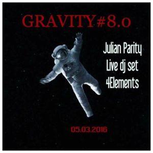 Julian Parity ::: Gravity 8.0 by Logistik Sound @ 4 Elements, Paris (05/03/2016)
