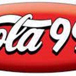 KOLA 99.9 FM San Bernardino-Dec.1988-Pt2  'We Keep You Dancing'  House/electro/freestyle mix