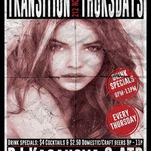 DJ Kasanova - Transition Thursdays (4.3.14)