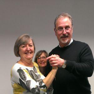 Breakfast with Martin and Debbie 5 Dec 2017 (guest Sue Burt) (dance teacher)