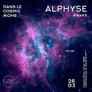 26/03/2016 - ALPHYSE dans le Cosmic Show sur Prun'