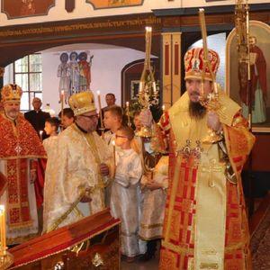 Архієрейска Божеска Літургія з церкви Св. Михала Архангела в Пшемкові