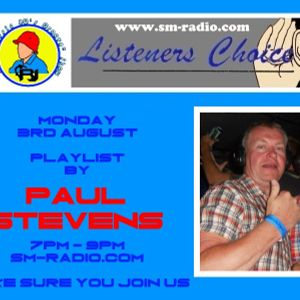 "RJ's ""Classic 80's Groove"" Show, Listeners Choice Playlist, Monday 3rd August 2105, sm-radio.com"