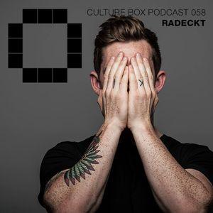 Culture Box Podcast 058 - Radeckt