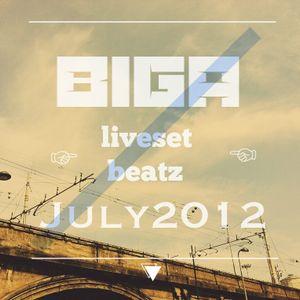 Biga Liveset Beatz July2012