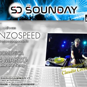 LORENZOSPEED* presents THE SOUNDAY Radio Show Domenica 14 Marzo 2021 in Loving memory of C.Coccoluto