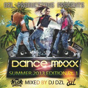 DJ Dzl - Dance Mixxx 2013 (Summer)