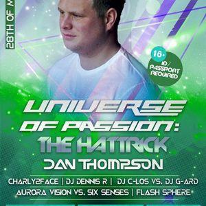 Dan Thompson - UOP: The Hattrick @ Club Organza, Breukelen '28-05-2016'