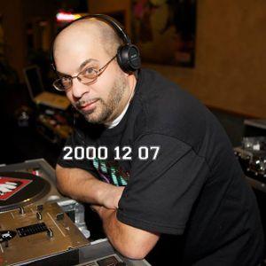 DJ Kazzeo - 2000 12 07 (Club Wreck)