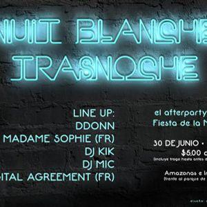 NUIT BLANCHE - DDONN'S LIVE SET - 30-06-2012
