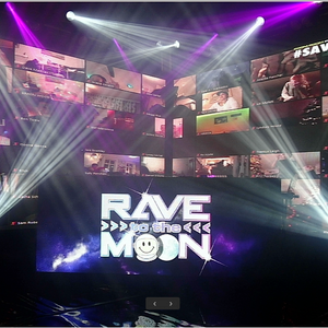 Listen again: RAVE TO THE MOON 2020