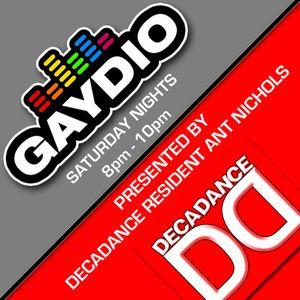 DECADANCE RADIO - SAT 03 NOV 2012