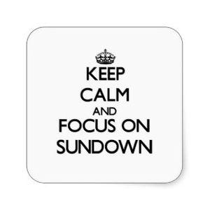 Sundowner August 2015