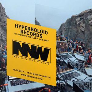 Hyperboloid Records w/ Saburov, Pixelord, Jan Amit - 18th October 2017