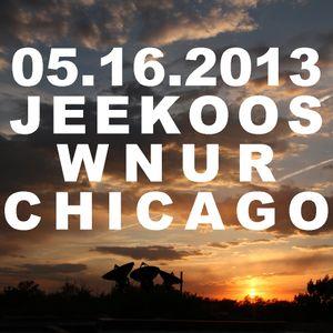 05.16.2013 Jeekoos on PTSRadio WNUR Chicago