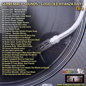 Good Old Nyanza Dayz CD 2