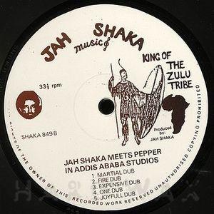 Jah Shaka Meets Pepper in Addis Ababa Studio