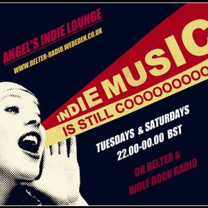Angel's Indie Lounge (including interview with Tom Heideman) Sat 19th May 2018