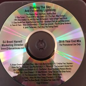 Year End Mix 2016 - Shaking The Sky And Following Lightning