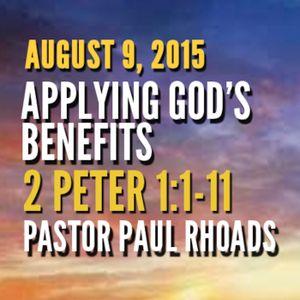 Applying God's Benefits-0809