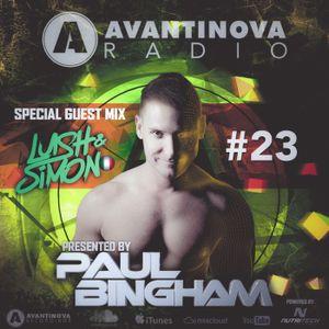 AVANTINOVA RADIO #23 - Lush & Simon Guest Mix