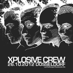 26.10.2012 / Xplosive Crew Special / Casus - DJ Set @ Rotkompot, Düsseldorf