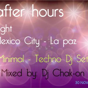 AfterHours - Flight Mexico City - La Paz (Minimal & Techno Dj Set)