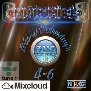 Wobbly Wednesday's UKG Show 4-6 With Mr Rumble Wednesday 28.06.17 #Wobble