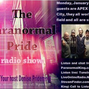 The Paranormal Pride-Apex Paranormal KC -1-30-2017