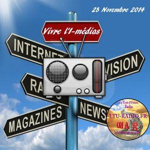 Vivre l'E-médias 28 Novembre 2014 avec Audrey