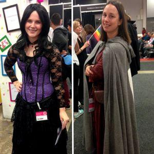 Intervju om fantasy - Gabriella Kjeilen och Annah Nozlin