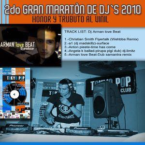 DJ AMAN BEAT 2do Maraton de djs TOKIO POP 2010