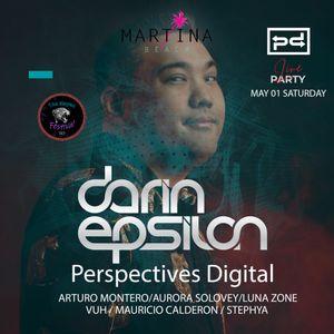 Live @ Martina Beach Club in Playa del Carmen, Mexico [May 2021]