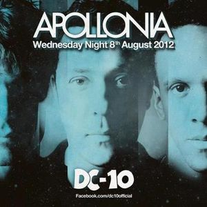 Dan Ghenacia, Shonky & Dyed Soundorom / Apollonia @ DC10 Radio Show / 8.08.2012 / Ibiza Sonica