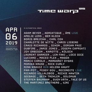 Carl Cox @ Time Warp 06-04-2019