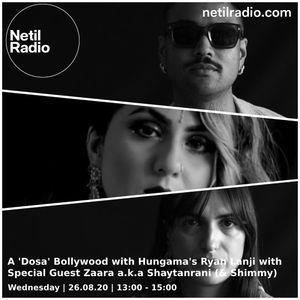 A Dosa Bollywood w/ Ryan Lanji, Shimmy & Shaytanrani - 26th August 2020