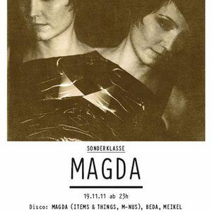 Magda Live @ Sonderklasse,Hive Club (Switzerland) (19.11.2011)