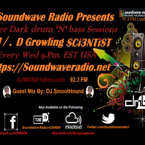 SWR and Mad Growling SCi3NTiST Guest DJ SmoothHound drum'N'bass.Vol.23 'Consept of Space Time'