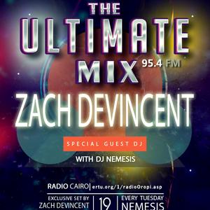 Nemesis - The Ultimate Mix Radio Show (020) 12/5/2015 (Guest Zach DeVincent)