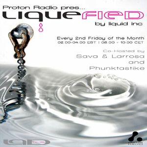 Proton Radio - Liquefied 013 pt.1 - Oct 8th, 2010 - Sava & Larrosa