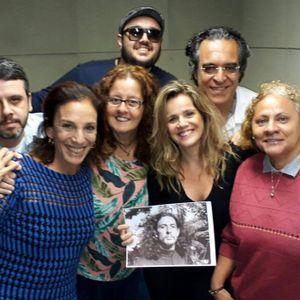 Painel Cultural falando sobre Torquato Neto com Marcus Fernando, Patricia Mellodi e Alexandre Rabel0