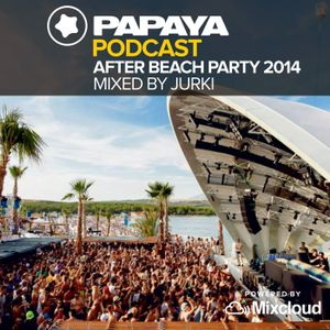 DJ Jurki LIVE @ Papaya Afterbeach 2014.