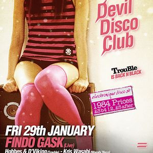 Devil Disco Club, Edinburgh (January '10)