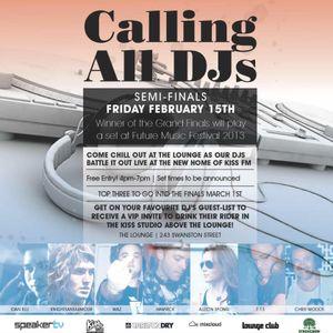 Calling All DJs Semi Final Mix with SpeakerTV & KISSFM