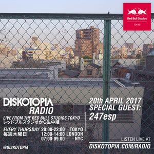 Diskotopia Radio 20th April 2017 w/ 247esp