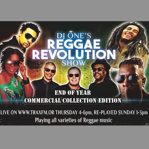 THE REGGAE REVOLUTION SHOW WITH DJ ONE - TRAX FM - THURSDAY 29th DECEMBER 2016