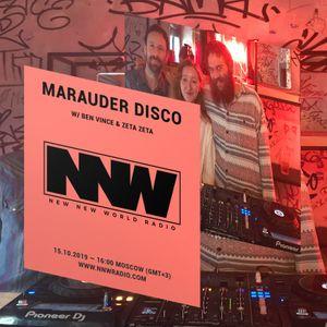 Marauder Disco / Ben Vince / Zeta Zeta - 15th october 2019